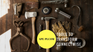 API tools for ConnectWise
