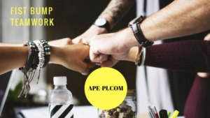 Fist Bump Teamwork when all goes well with API's