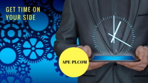 Get time on your side with API's